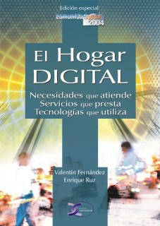 Libro del HOGAR DIGITAL editado por Enrique Ruz
