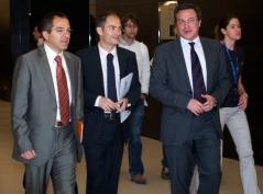 Con el Director General de Innovación Tecnológica del Ayto. de Madrid